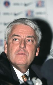 Charles Biétry, éphémère président du PSG en 1998