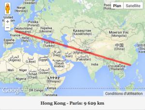 Hong Kong : cap à l'Est !