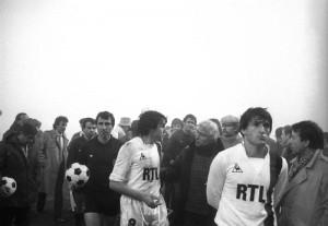 le brouillard s'invite à Videoton...