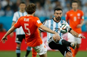 Lavezzi, 5eme joueur du PSG en finale de la Coupe du monde