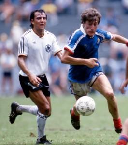 Luis Fernandez, impuissant en 1986