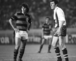 Premier duel entre Zico et Fernandez qui se retrouveront au Mexique en 1986 à Guadalajara