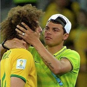 Thiago Silva et David Luiz, plus dure sera la chute