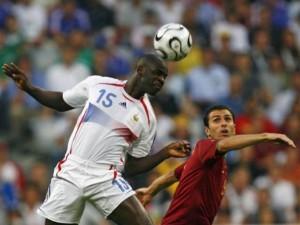 Pauleta dépassé par les Bleus en 2006