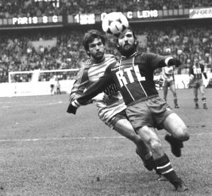 Alves en action face aux Lensois