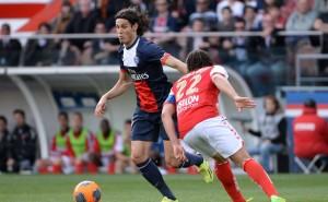 Cavani meilleur buteur du PSG face à Reims