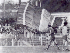 Les supporters parisiens présents à Montataire