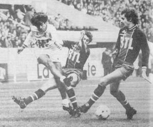 Fernandez et Renaut au contre face à Barberis