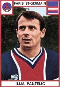 l'homme du match côté parisien : le gardien de but Ilija Pantelic