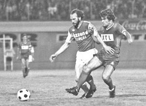 l'exploit de Bianchi face au PSG en 1974