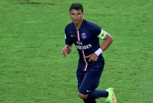 Thiago Silva, capitaine avant sa blessure