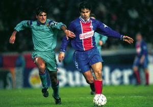 Raï, victorieux du Barca en 1995