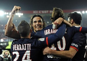 la même joie pour les Parisiens face à Lyon, 9 mois plus tôt.