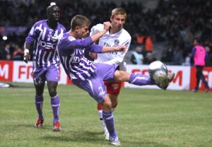 Chantôme, le seul joueur du PSG présent lors de la dernière défaite de Paris à Toulouse