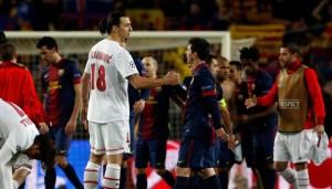 Le PSG n'a pas perdu mais Ibrahimovic est éliminé par Messi