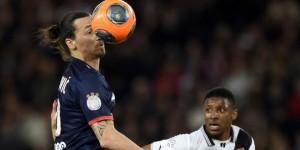 Ibrahimovic impuissant face à Rennes la saison dernière