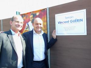 Vincent Guérin a désormais son terrain !