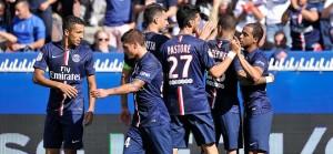 le PSG s'est imposé en début de saison face à Bastia (2-0)  à 17h