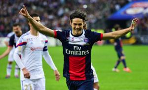 Cavani, dernier buteur du PSG face à Lyon