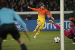 l'ouverture du score signée Messi
