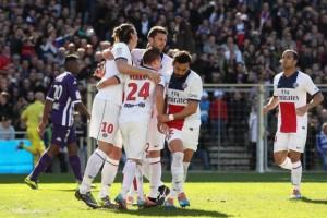 un record pour Paris la saison dernière... à Toulouse
