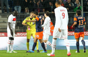 Montpellier-PSG : Sakho expulsé