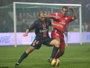 la dernière défaite du PSG en coupes d'Europe : face à l'Hapoël Tel Aviv (2-4), le 23 novembre 2006