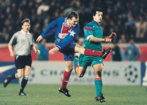 le but de Guérin contre le Barca