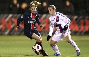 Laure Boulleau face à Lyon