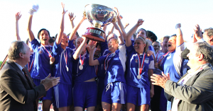 la joie des Parisiennes : la Coupe est à Paris en 2010