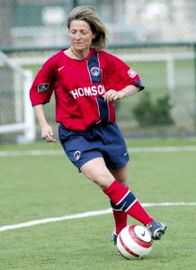 Nathalie Coutat, dernière saison au PSG