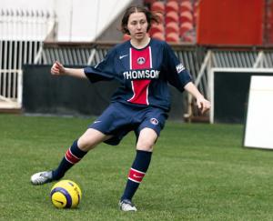 une drôle de saison pour une joueuse dont on reparlera : Sabrina Delannoy...