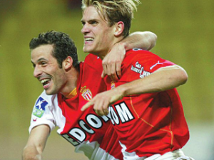 Ludovic Giuly et Jérôme Rothen à Monaco en 2003-2004