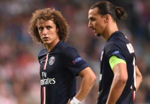 David Luiz, compère d'Ibra pour frapper les coup-francs ?