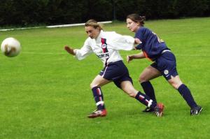 Hoffele en duel face à Rigal (Montpellier)