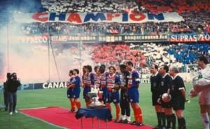 le PSG champion de France en 1994