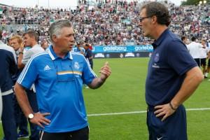 Blanc et Ancelotti, deux défaites pour débuter...