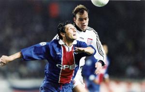 Fournier face au Bayern en 1997