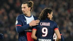 Prochain objectif pour Cavani : égaler la série de 5 buts d'Ibra
