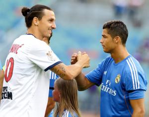 Le PSG d'Ibra pourrait rejoindre le Real de Ronaldo lors du match au Parc contre l'Ajax