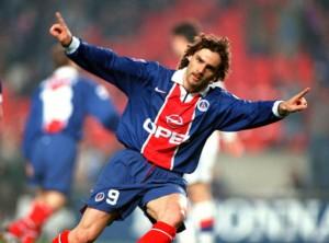 Marco Simone, 32 buts... en 78 rencontres au PSG