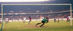 M'Pelé, buteur lors du 5-1 contre l'OM en 1978