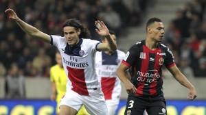 lors des 11 succès de la saison dernière, Cavani avait été décisif contre Nice (1-0). Bis repetita samedi ?