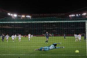 le penalty numéro 1 d'Ibrahimovic face à Ospina...