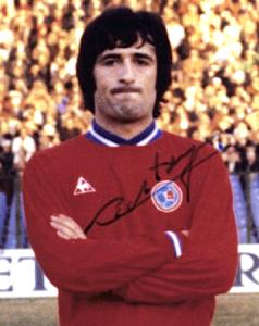 Jean-Louis Rostagni, premier expulsé en 1ère division pour le PSG