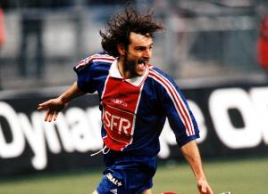 Marco Simone, premier but du PSG à Lorient