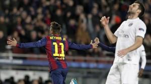 la joie pour Neymar, la déception pour Thiago Motta