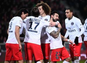 l'objectif du PSG à Guingamp : un 12eme match sans défaite à l'extérieur en L1