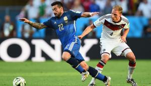 Lavezzi, battu en finale par l'Allemagne