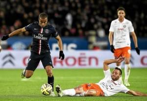 Lucas, un des rares satisfactions parisiennes contre Montpellier